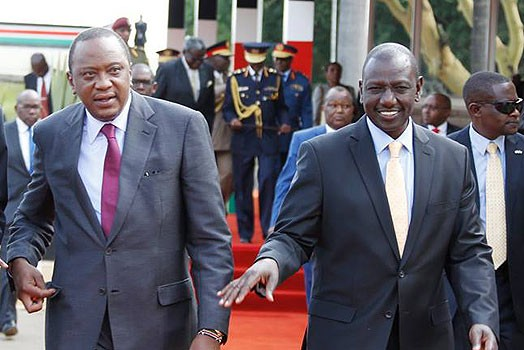 Image result for Uhuru, Ruto