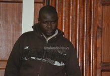 Lysaniash Otieno Onjwash in court charged with fraud. || Prudence Wanza