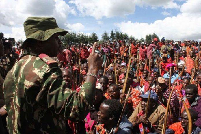 Narok clashes land