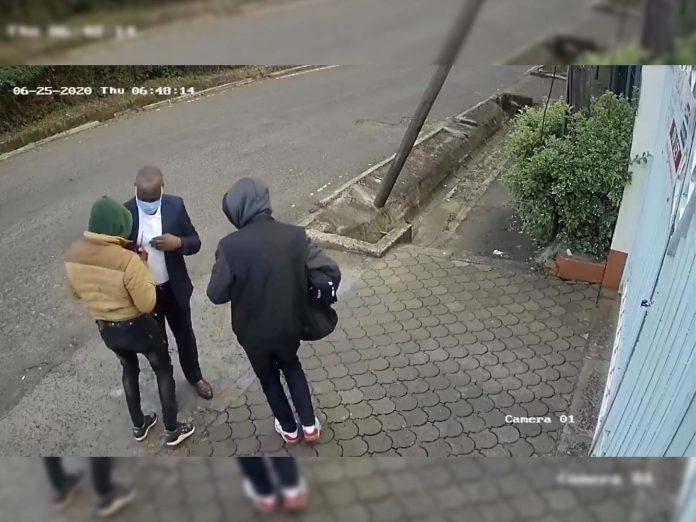 kilimani robbery video
