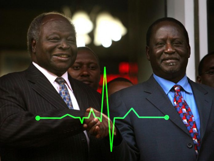 raila kibaki health