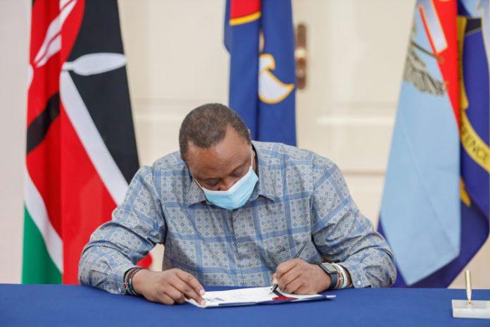 Uhuru finance bill