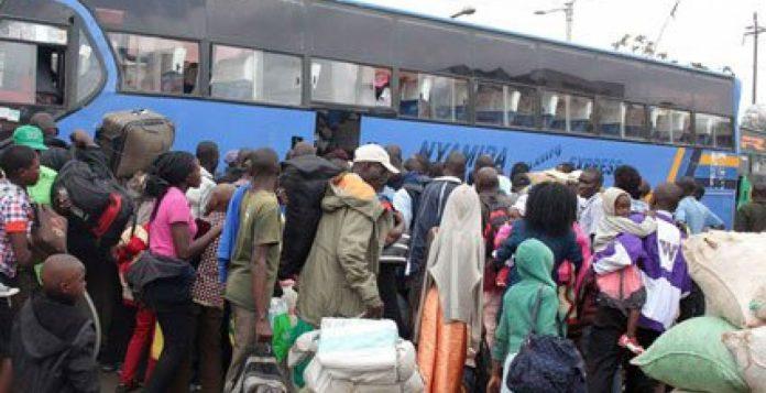 Nairobi Country Bus Station in Muthurwa, Nairobi County.